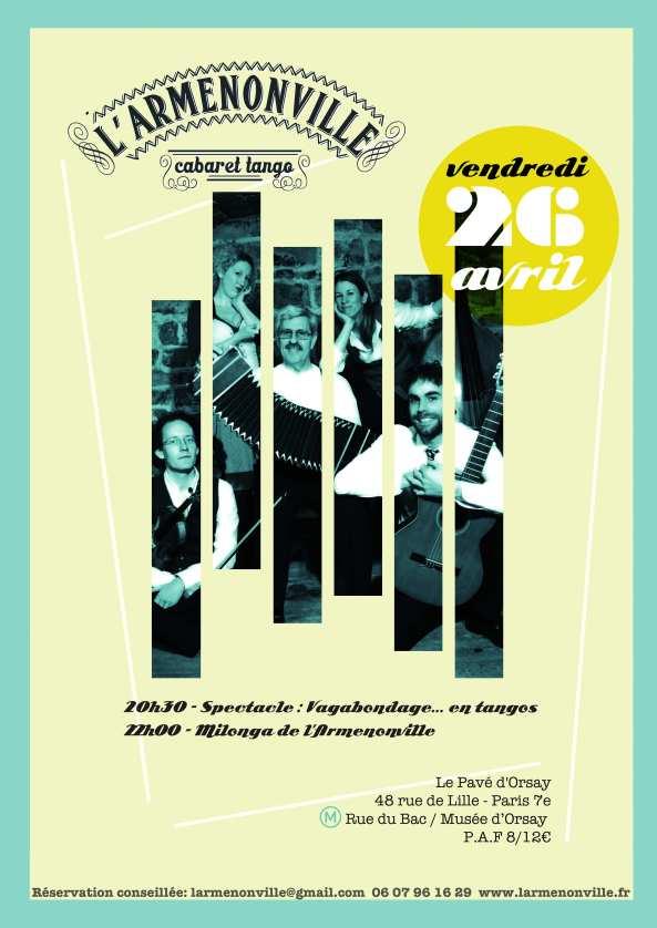Vagabondage - Milonga - 26 avril 2013