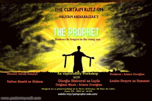 The Prophet flyer