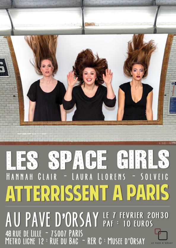 Les space girls atterrissent à Paris